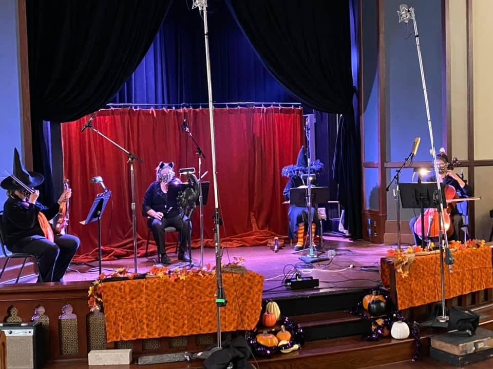 Halloween Concert Rehearsal LWSO